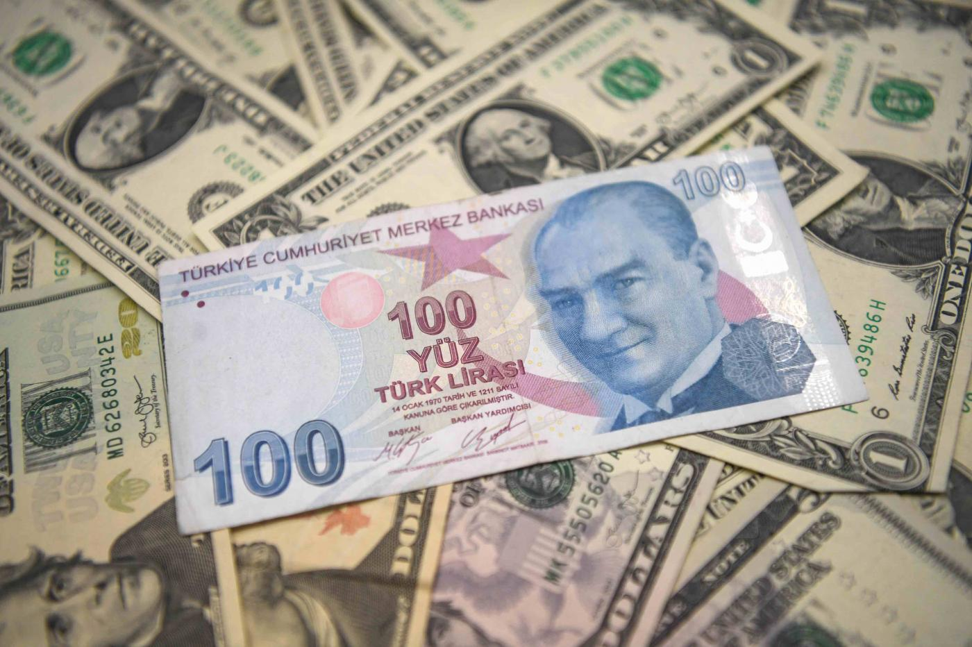 dolar tl rekor