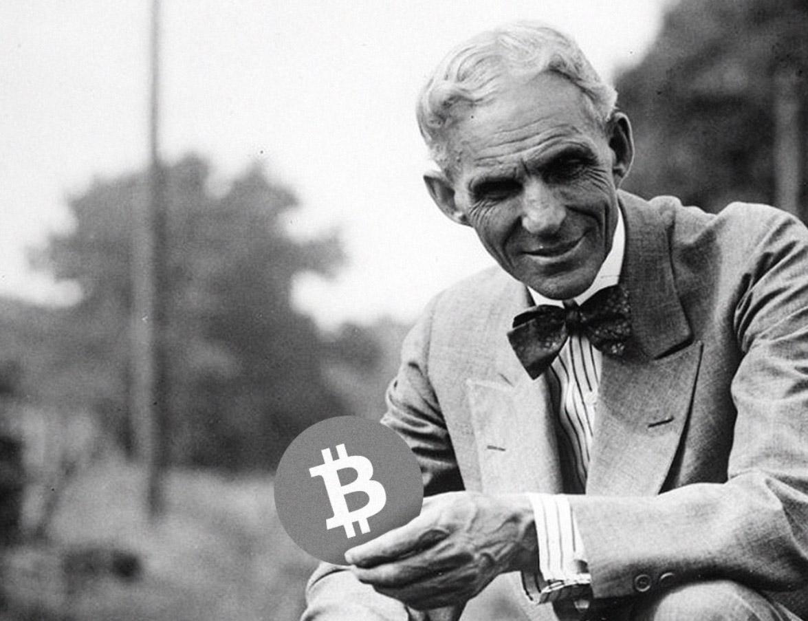 henry ford bitciin btc bitcoin