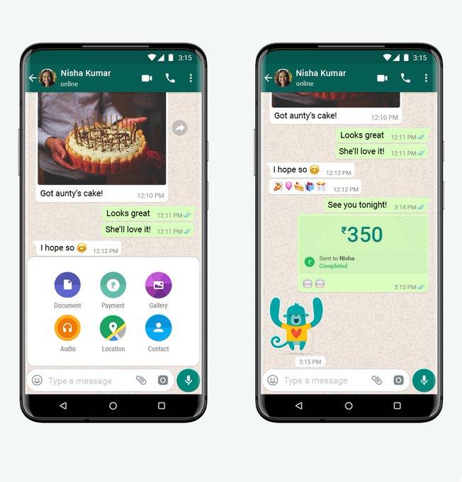whatsapp para yollama ozelligi