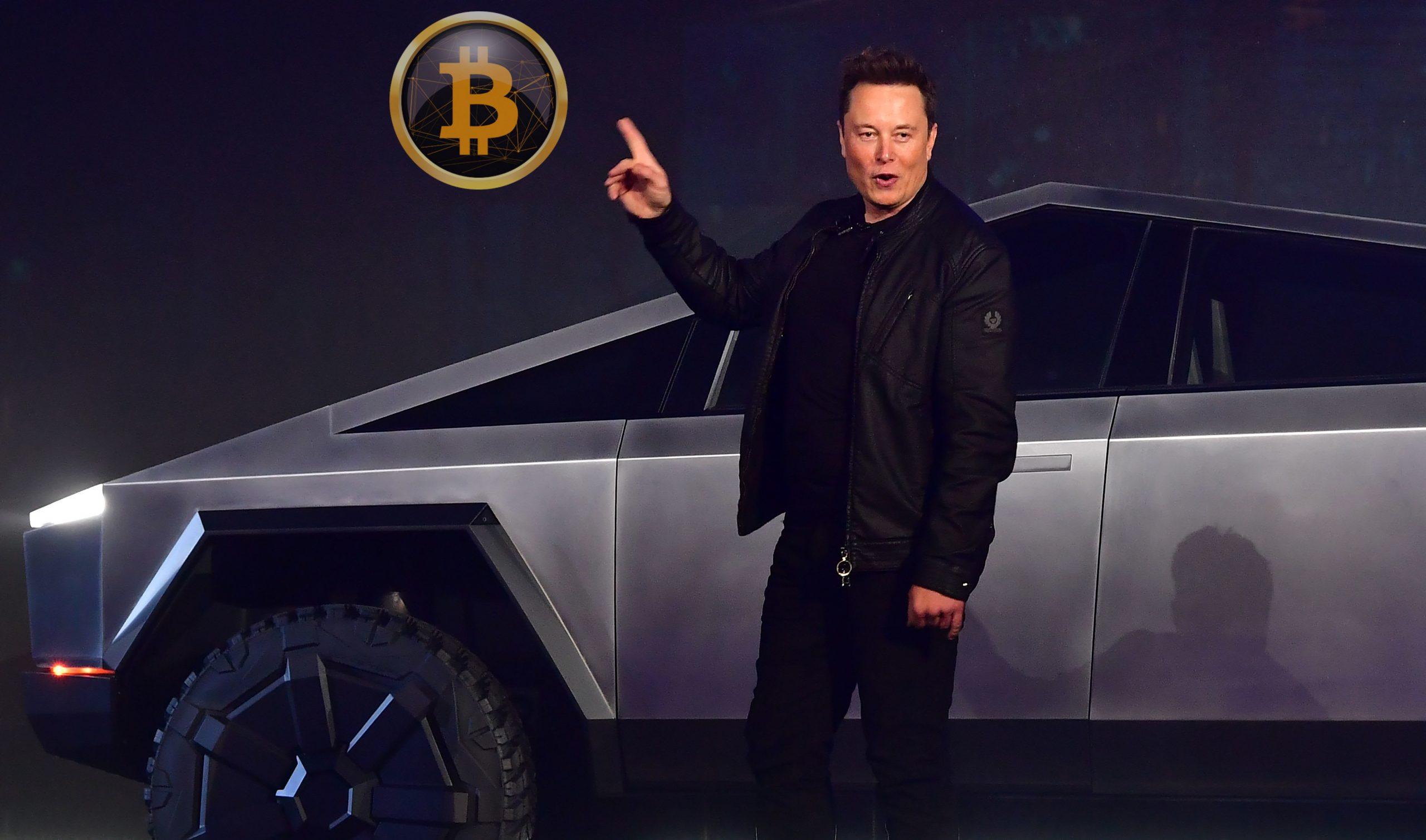 unlu milyarder elon musk a seslendi tesla cybertruck almak icin bitcoin btc kullanmak istiyorum