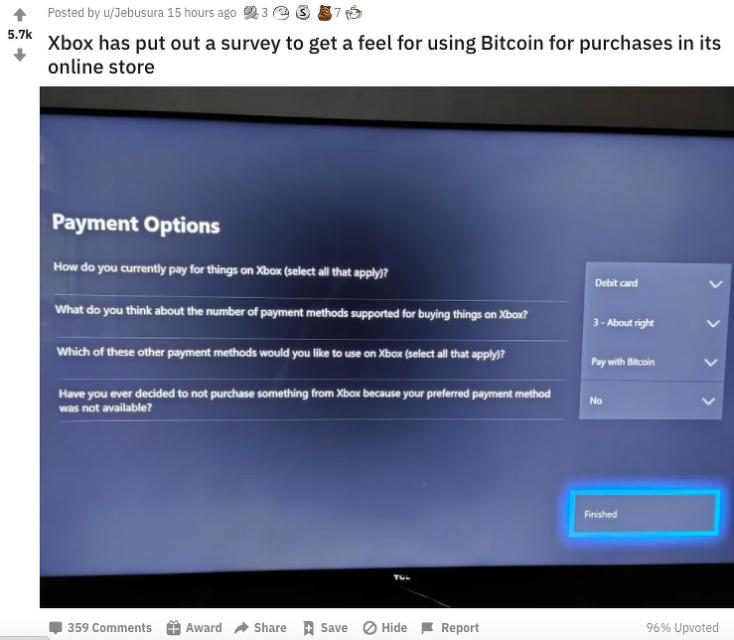 Reddit Xbox