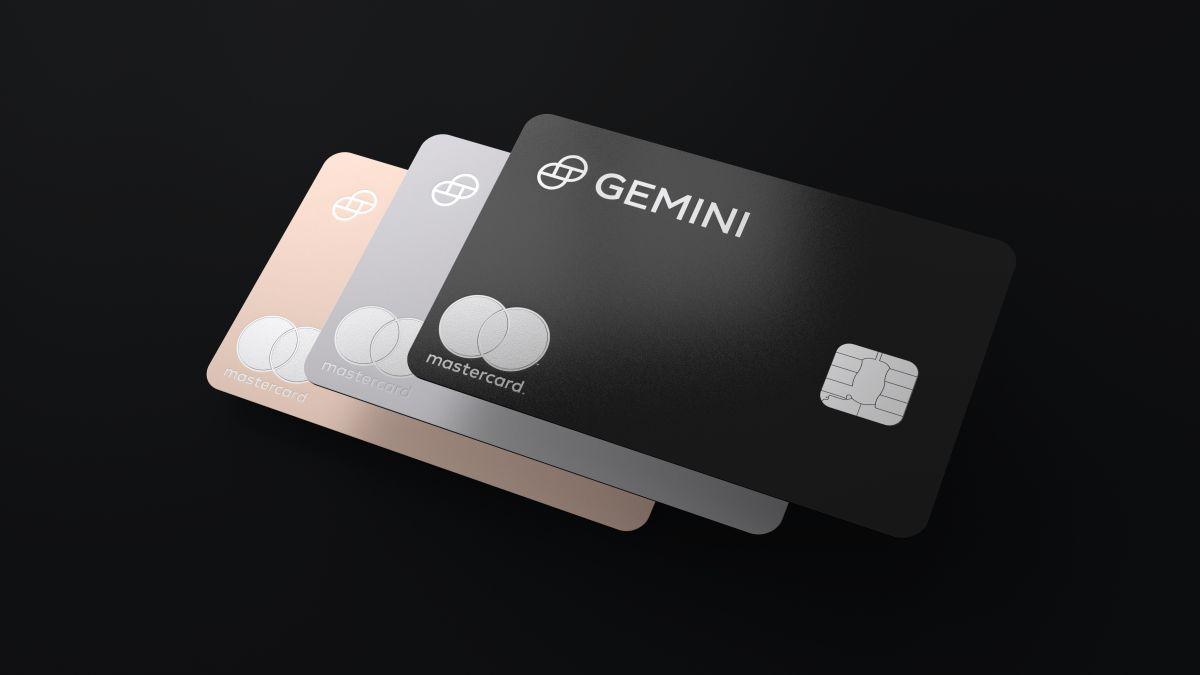 gemini kripto para odullu kredi karti icin mastercard ile ortaklik kurdu 1