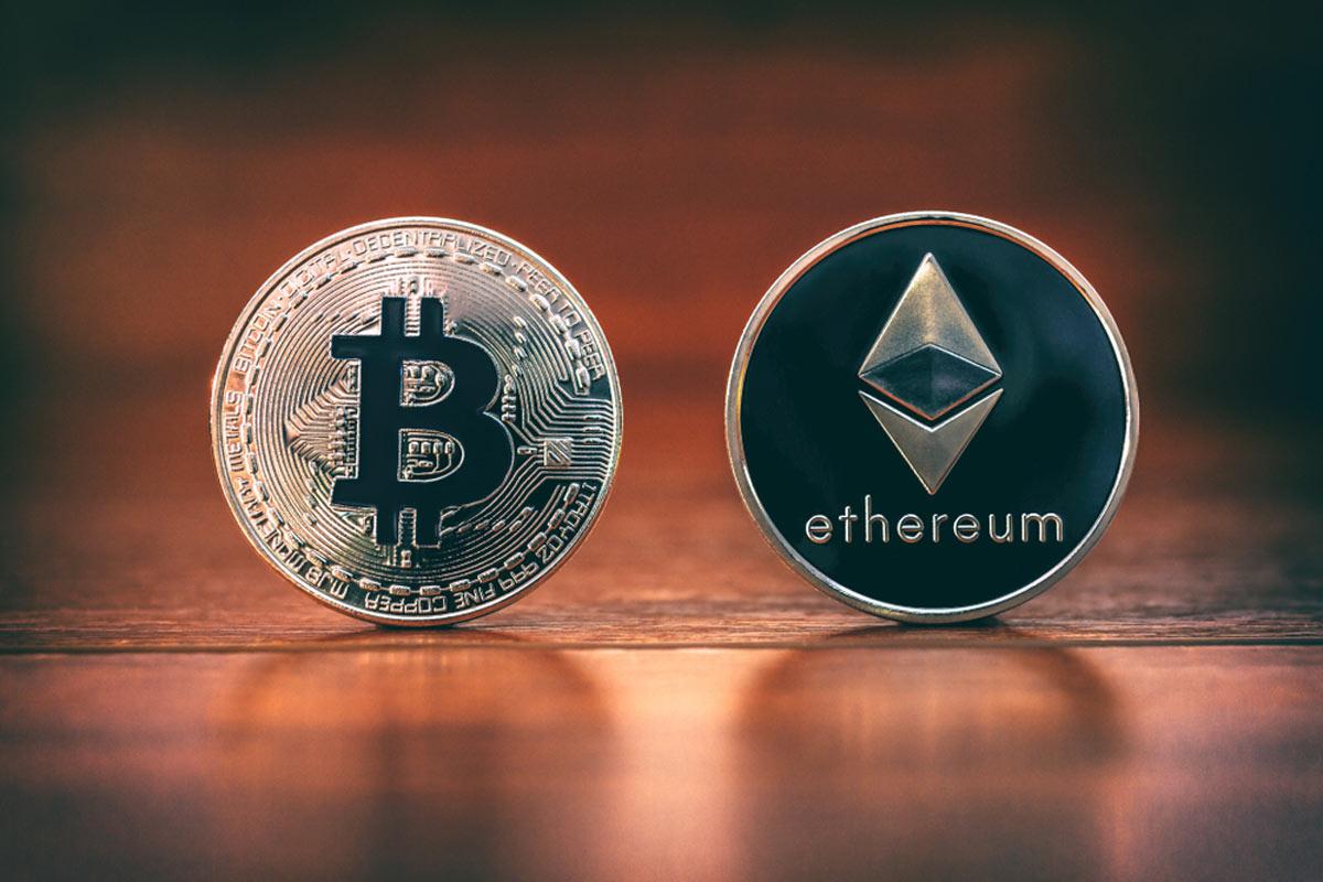 bitcoin ethereum zincir verileri