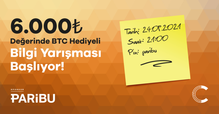 bitcoin ödüllü yarışma